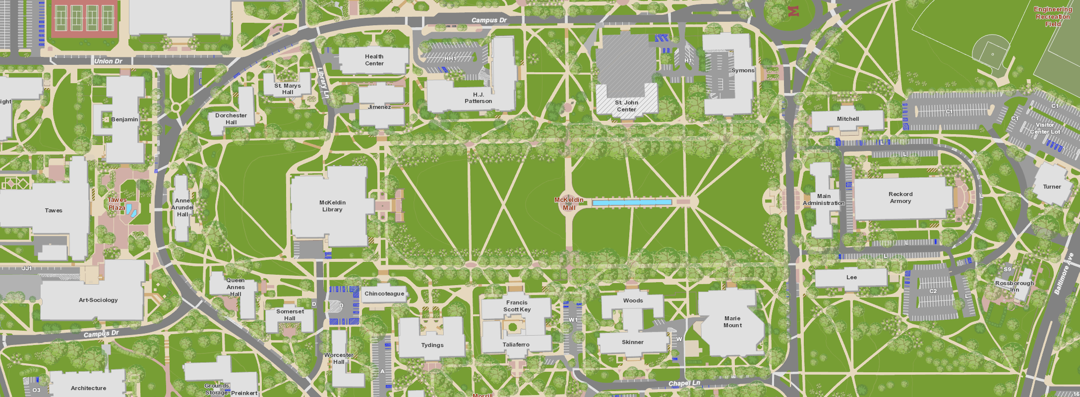 University Of Maryland Campus Map Cyndiimenna
