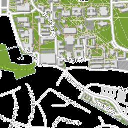 UMD Campus Map on