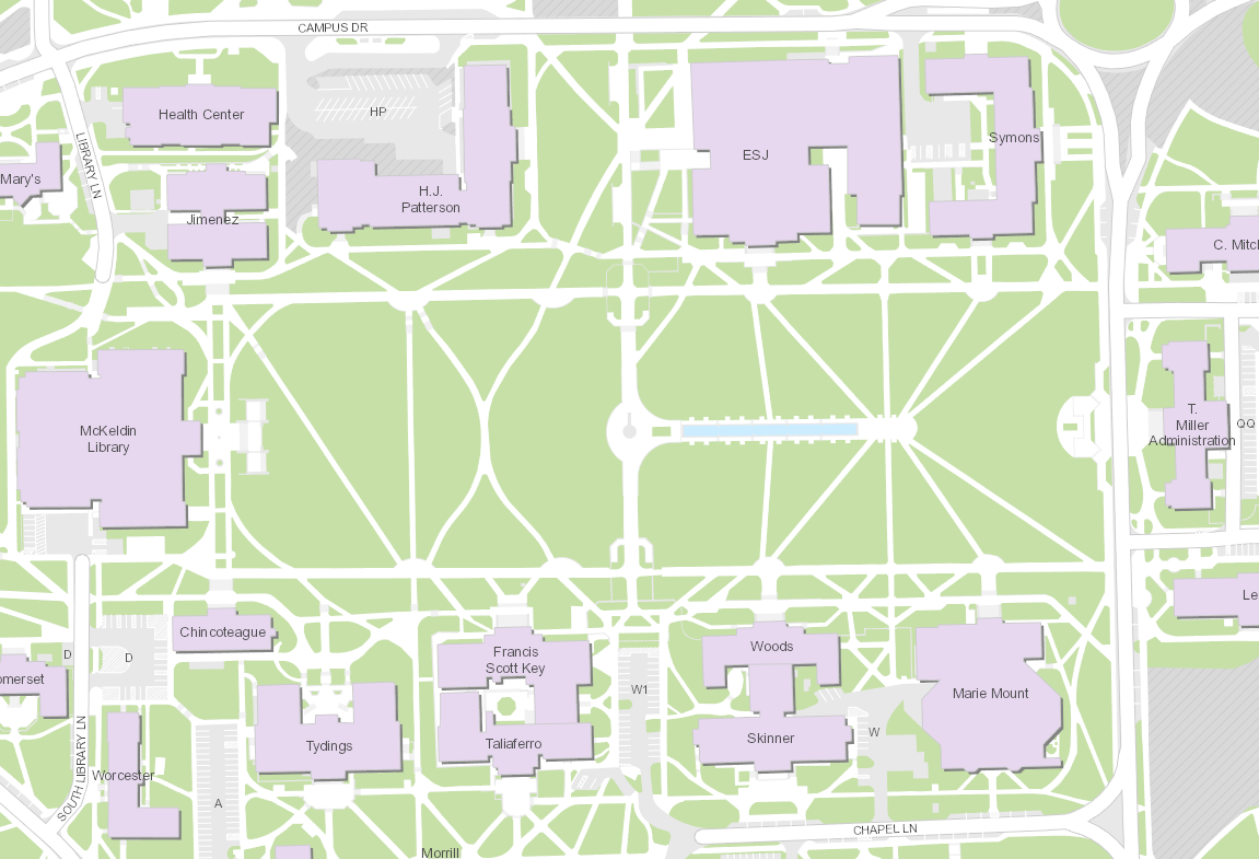 University Of Maryland Campus Map Arcgis Hub